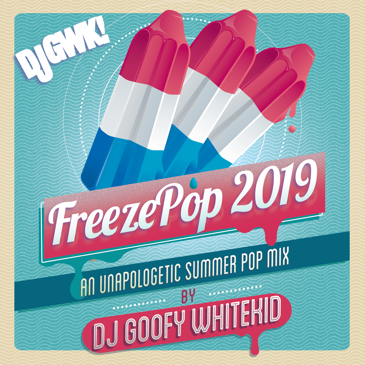 DJ Goofy Whitekid - FreezePop 2019 Cover Art